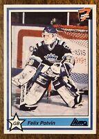 1990-91 7th Inning Sketch QMJHL #35 Felix Potvin - MT Centered  - Rare