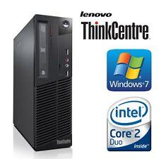 Lenovo thinkcentre M70e Core 2 Duo e7500 2x2,93 4GO RAM HDD 250 win 7 pro