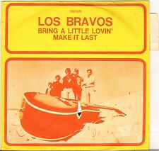 "LOS BRAVOS ""BRING A LITTLE LOVIN'"" 60'S SP BARCLAY 060 926"