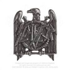 SPILLA : SLAYER Logo 40x33x14mm. *OTTIMA IDEA REGALO* Rock Metal Pins Badge