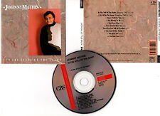 "JOHNNY MATHIS ""In The Still Of The Night"" (CD) 1989"