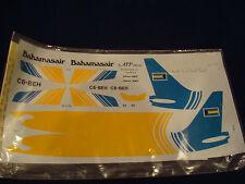 BAHAMASAIR 737-200 ATP DECAL DECALS 1:144