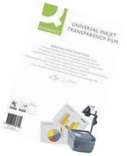A4 Inkjet Clear Printer Acetate Film OHP Sheets Presentation Transparencies 50Pc