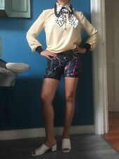vintage roberto cavalli blouse xs
