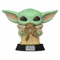 Star Wars: The Mandalorian The Child with Frog Pop! Vinyl Figure NEW, SEALED