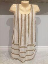 BCBG Maxazria sleeveless Women's Dress boho hippie