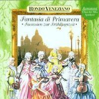 """RONDO VENEZIANO """"FANTASIA DI PRIMAVERA-FANTASIE"""" CD NEUWARE"""