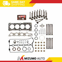 Head Gasket Set Intake Exhaust Valves Fit 06-08 Chevrolet Aveo Aveo5 1.6L DOHC