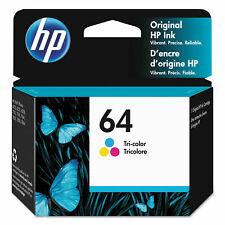 HP 64 (N9J89AN#140) Ink Cartridge - Tri-color