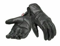 Triumph Mens Banner Black Motorcycle Gloves MGVS20118