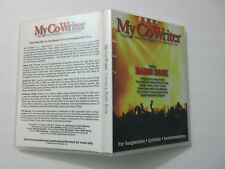 My Co-Writer music backing tracks CD for songwriting songs, Volume 5: Radio Rock