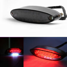 28 LED LICENSE BRAKE LIGHT TAIL LIGHT FOR MOTORCYCLE BOBBER CAFE RACER CLUBMAN