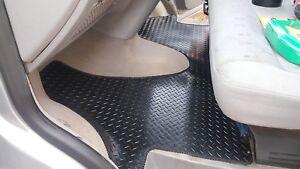 VW Transporter T5/T6 Kombi (2004-2019) Rubber Fully Tailored Van Floor Mats