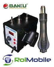 BAKU 858D SMD Rework Estación Digital Aire Caliente Soldadura Soplador Pistola