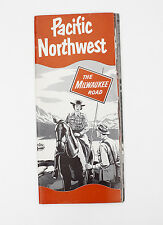 The Milwaukee Road Pacific Northwest & Super Domes Brochure 1954