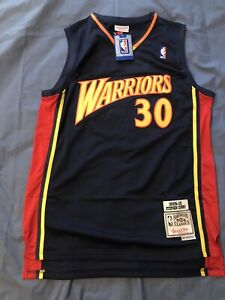 Authentic Mitchell & Ness 2009-2010 Stephen Curry Golden State Warriors Jersey