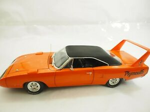American Muscle 1970 Plymouth Superbird Hard Top Orange Diecast 1:18 Ertl