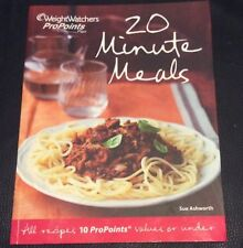 Weight Watchers pro points cookbook - 20 minute meals,