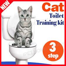 CAT TOILET TRAINING KIT Pee Potty Pet Litter Tray with Catnip FAST SHIP AU STOCK