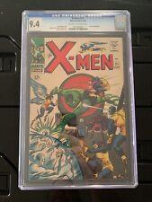 UNCANNY X-MEN #21 • CGC 9.4 • Lucifer Appearance, Roy Thomas Story 1966 MARVEL