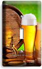 BEER BARREL MUG GLASSES HOPS LIGHT SWITCH OUTLET WALL PLATES KITCHEN DINER DECOR