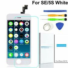 White LCD Full Assembly Touch Screen Digitizer Replace for iPhone 5S / SE