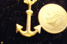 bling gold plated boat sailboat beach sailboat anchor pendant charm necklace diy