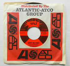 THE BAR-KAYS 45 Don't Do That / Give Everybody Some VOLT Soul #B294