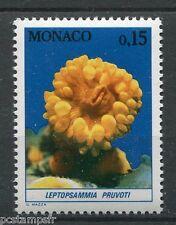 MONACO 1980, timbre 1255, POISSONS, LEPTOPSAMMIA, FAUNE, MER, neuf**