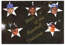 1990 Stars of Baseball Universe Card Griffey, Cal Ripken, Nolan Ryan, Bo Jackson