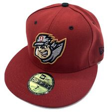 Altoona Curve MiLB Red New Era 59Fifty Fitted Baseball Hat Cap Size 7 New