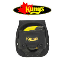 KUNYS HM1218 Large Black 5m/8m Fabric Tape Measure Belt Holder Frog, KUNHM1218