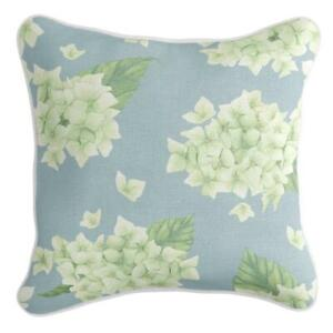 Kate - Premium Cushion Cover | Quality Indoor Outdoor Blue Green Hydrangeas