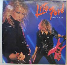"LITA FORD - DANCIN '` ON THE EDGE - MERCURY 818864-1 - 12"" LP (Y424)"