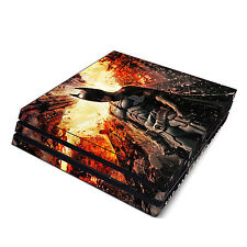 Skin Decal Cover Sticker for Sony PS4 Pro - Batman The Dark Knight Rises
