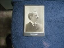 VINTAGE 1898 UNIDENTIFIED SIGNED ON BACK BOXING STUDIO PHOTO VERY GOOD 4.5 X 6.5
