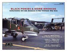 AOA decals 1/72 BLACK PONIES & MORE BRONCOS - USN/USMC OV-10A Broncos