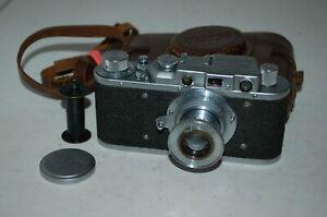 FED 1 Type C NKVD Vintage 1938 Soviet Rangefinder Camera, Case. 57738. UK Sale