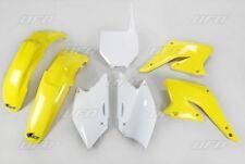 Kit plastique UFO motocross Suzuki RMZ 250 2004 - 2005 - 2006 origine jaune