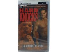 UMD Sony PSP Chris Benoit Hard Knocks Documentary Movie WWE WWF Wrestling READ
