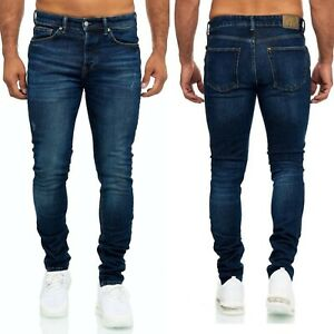 Herren Jeanshosen Stretch Hose Jeans Slim fit SUPER SKINNY Jeans code 3240