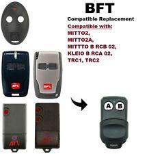BFT MITTO - 2 telecomando di ricambio compatibili Portachiavi (batteria inclusa)