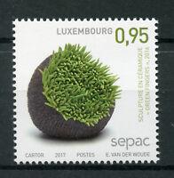 Luxembourg 2017 MNH Handcrafts Handicrafts SEPAC 1v Set Sculpture Art Stamps