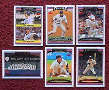 2006 Topps New York Yankees Baseball Team Set w/ Update (44 Cards) ~ Derek Jeter