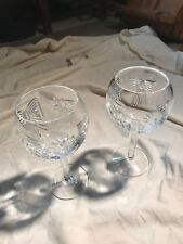 Waterford Rare Millenium 5 toasts,WineGoblets,Very Rare,NeverUsed,2 of Lot of 11