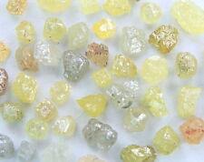 Natural Loose Diamond Raw Rough Natural Shape mix Color 50 pis lot K12