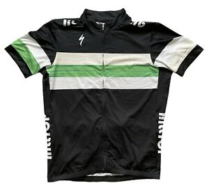 SPECIALIZED RBX COMP JERSEY SS MENS LARGE CYCLING LIGHLTY USED