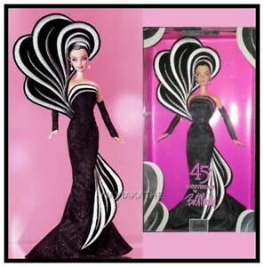BOB MACKIE 45th Anniversary Barbie RARE platinum BLACK Exclusive