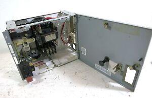 """GE 8000 50A Breaker  Size 2 Starter 12"""" MCC Bucket 50 Amp Sz2 SELA CR306D0"""