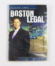 Boston Legal TEMPORADA DOS TV SHOW dvd